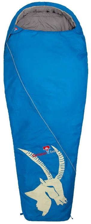 Magamiskott Gruezi Bag 8437 Cloud Mumie Steinbock Sleeping Bag Left Zipper