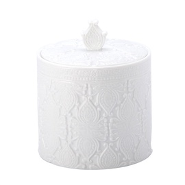 Anho Novito Box For Cotton Pads BCO-0836F White