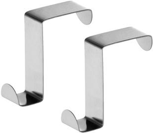 Tatkraft Seger Over Room & Cabinet Doors Hooks 2pcs