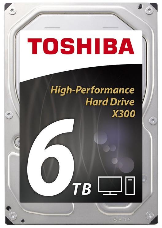 Toshiba X300 6TB 7200RPM SATA III 128MB HDWE160EZSTA