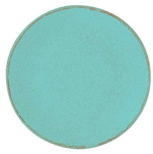 Porland Seasons Dinner Plate D24cm Turquoise