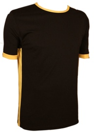 Bars Mens T-Shirt Black/Yellow 168 XL