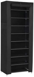Songmics Shoe Rack Black 58x28x160cm