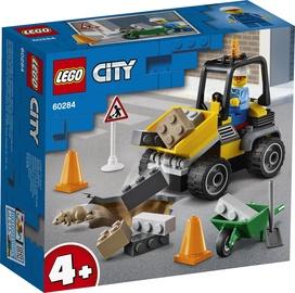 KONSTR LEGO CITY TEETÖÖDE TRAKTOR 60284