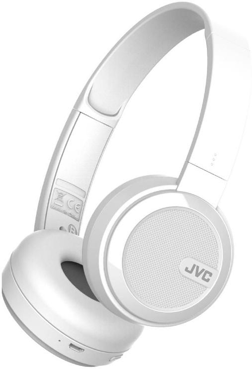 Kõrvaklapid JVC HA-S40BT White, juhtmevabad