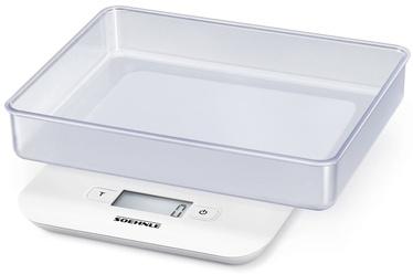 Soehnle Electronic Kitchen Scales Compact White