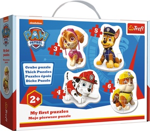 Pusle Trefl My First Puzzles Paw Patrol 36087, 3/4/5/6 tk