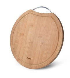 Разделочная доска Fissman Bamboo, коричневый, 300x300 мм