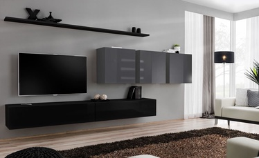ASM Switch VII Wall Unit Black/Graphite