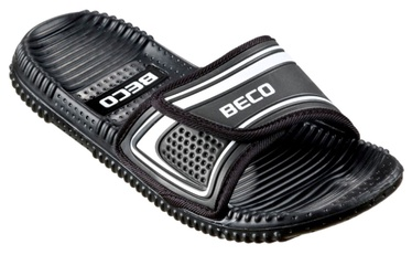 Beco 90601 Massage Slippers Black Silver 43
