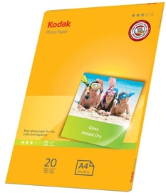 Kodak Photo Paper Gloss A4 180g 20sh