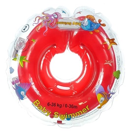 Baby Swimmer Inflatable Neck Ring Red 0-36