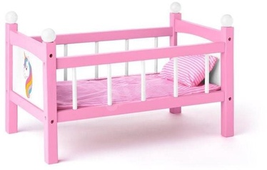 Woody Unicorn Doll Bed Wiht Bedding 91310