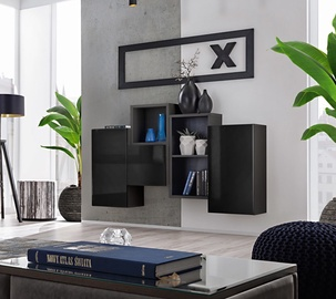 ASM Blox SB III Hanging Cabinet Set Black