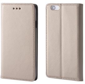 TakeMe Smart Magnetic Fix Book Case For Xiaomi Redmi Note 6 Pro Gold