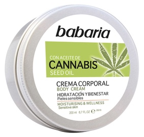Babaria Cannabis Body Cream 200ml