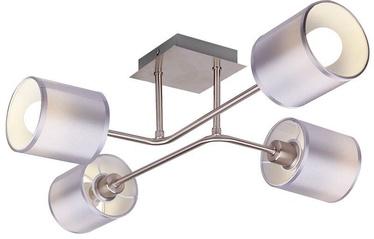 Candellux SAX Ceiling Lamp 4x40W E14 Satin /Nickel