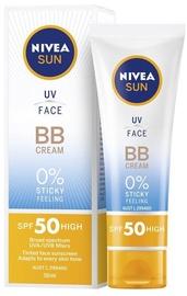 Крем для загара Nivea Sun UV Face BB Cream SPF50, 50 мл