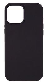 Evelatus Silicone Back Case With Bottom For Apple iPhone 12 Pro Max Black
