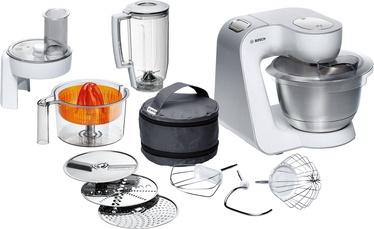 Bosch Kitchen Machine MUM54230 White/Silver