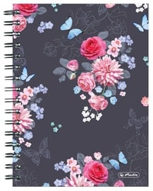 Herlitz Spiral Notepad A5/100p Ladylike Black