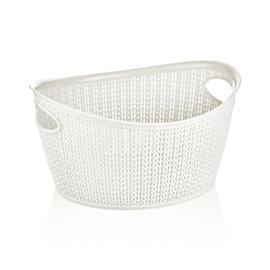 SN Knit Storage Basket 1.5l White