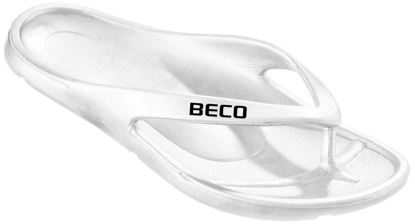 Beco Pool Slipper 90320 White 39