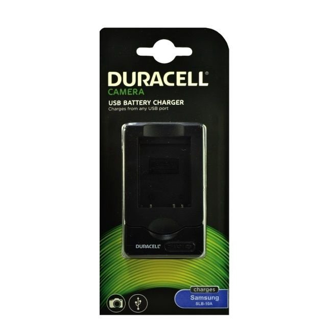 Duracell Analog Samsung SBC-10A USB Charger For L200/110/P1000/WB550/SLB-10A Battery