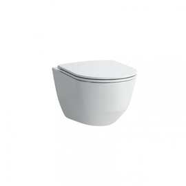 Seinapealne WC-pott Laufen Rimless H8669570000001, kaanega, 360x530 mm