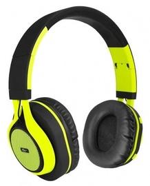 ART AP-B04 Bluetooth Headphones w/Microphone Black/Lime