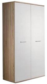 Гардероб ASM Dino 2D White/Sonoma Oak, 90x55x191 см