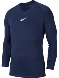 Nike Men's Shirt M Dry Park First Layer JSY LS AV2609 410 Dark Blue L