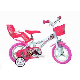"Laste jalgratas Dino Bikes 612L-NN, valge, 12"""