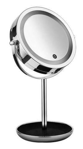 Peegel Macom Sirio Classy 213A Chrome, valgustusega, teisaldatav, 17.5x40 cm