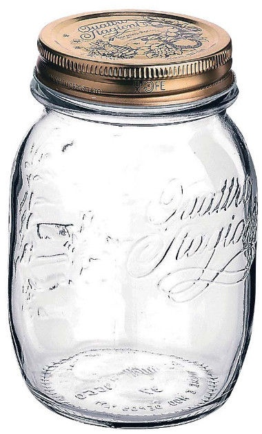 Bormioli Rocco Quattro Jar 0.5l
