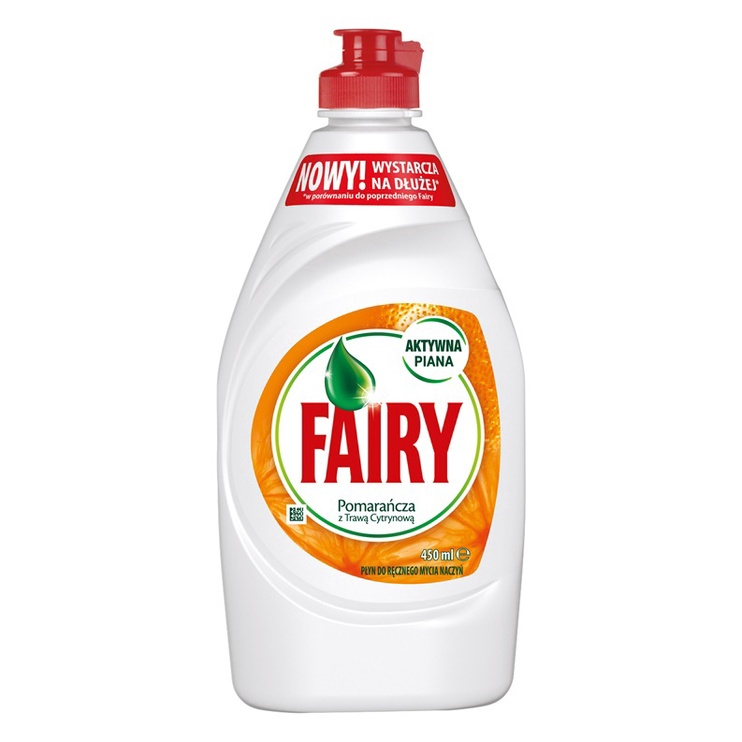 Fairy Orange, 450 ml