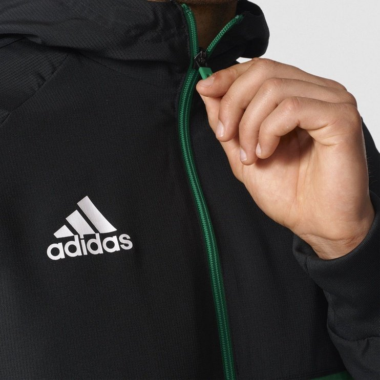 Adidas Tiro 17 Presentation Jacket BQ2777 Black Green L