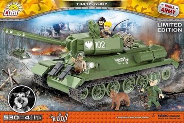 Konstruktor Cobi Small Army Rudy 102 T-34/85 2486