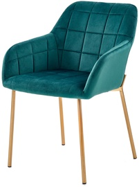 Halmar K306 Chair Dark Green