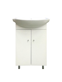 Deftrans Mykonos 50 Cabinet With Sink White