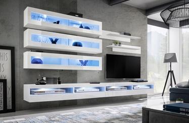 ASM Fly U5 Living Room Wall Unit Set White