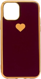 Fusion Heart Back Case For Apple iPhone 11 Pro Max Red