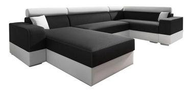 Nurgadiivan Idzczak Meble Infinity Super Black/Beige, 332 x 185 x 93 cm