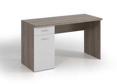 Письменный стол WIPMEB Rest, белый/дубовый