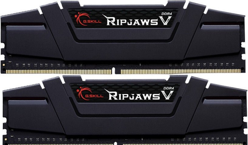 G.SKILL RipJawsV 16GB 3200MHz CL16 DDR4 KIT OF 2 F4-3200C16D-16GVGB