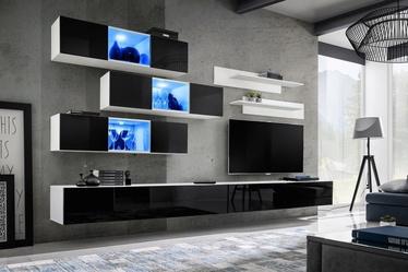 ASM Fly K3 Living Room Wall Unit Set Black/White
