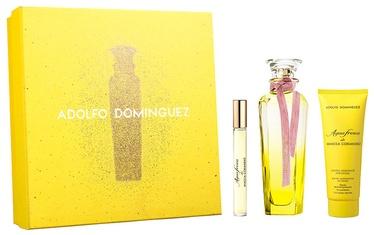 Adolfo Dominguez Agua Fresca De Mimosa Coriandro 3pcs Gift Set