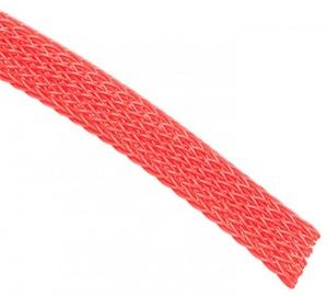 Techflex Flexo PET Sleeve 6mm Red 1m