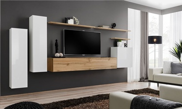ASM Switch I Wall Unit Wotan Oak/White