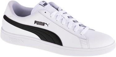 Puma Smash V2 Shoes 365215-01 White/Black 46